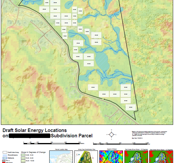 Estimating the Solar  Power Potential of Site Based on Constraints