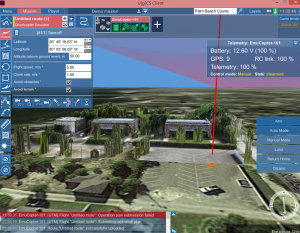 Detailed Mission Flight Planning in a 3D Virtual World Environment